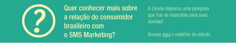 E-book Consumidor brasileiro e SMS Marketing