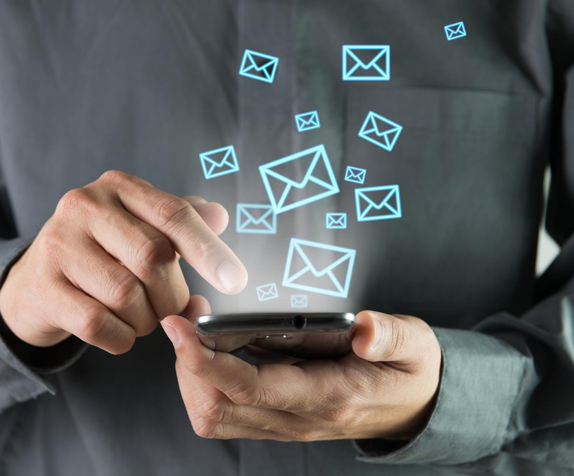 sistema de SMS